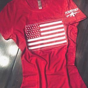 🇺🇸American Flag T-Shirt - Sm. Women *NWOT*